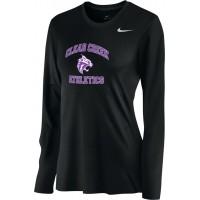 Clear Creek 15: Nike Women's Legend Long-Sleeve Training Top - Black