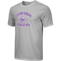 Clear Creek 16: Adult-Size - Nike Combed Cotton Core Crew T-Shirt - Gray