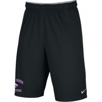 Clear Creek 25: Adult-Size - Nike Team Fly Athletic Shorts - Black