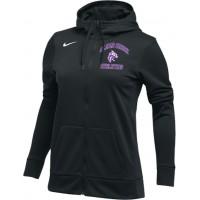 Clear Creek 20: Nike Women's Therma All-Time Hoodie Full Zip - Black